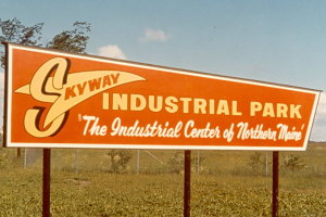 Skyway Industrial Park Sign circa 1961