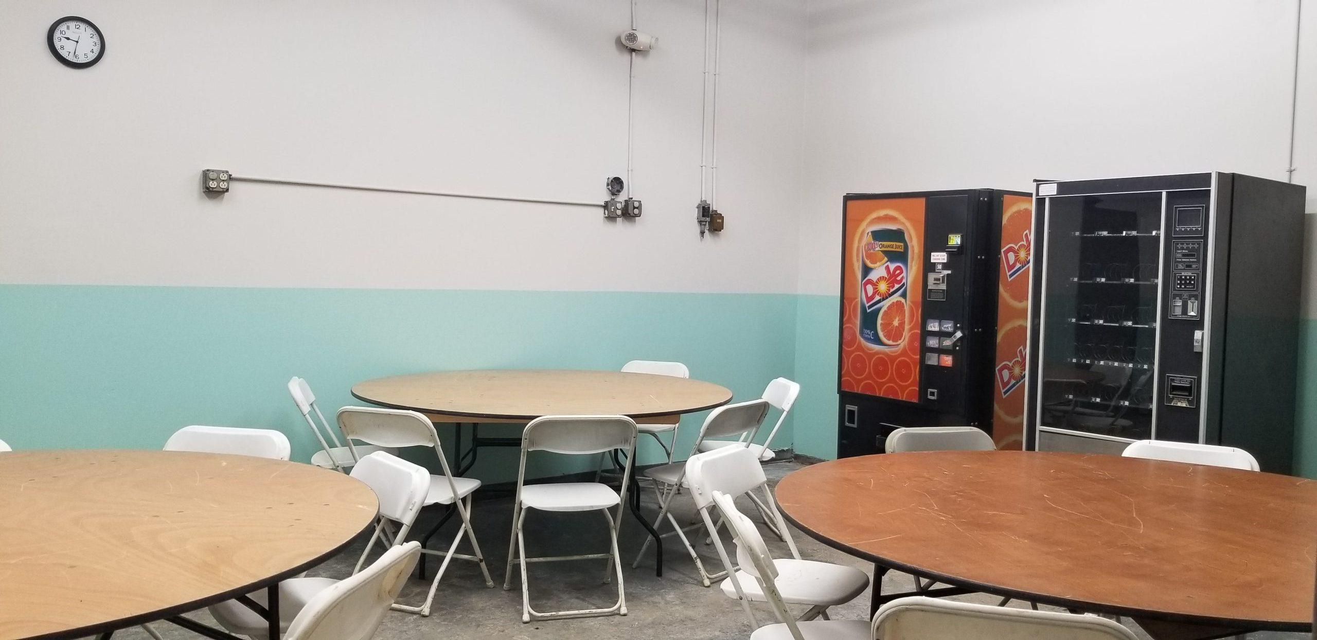 Bldg. 609 Breakroom