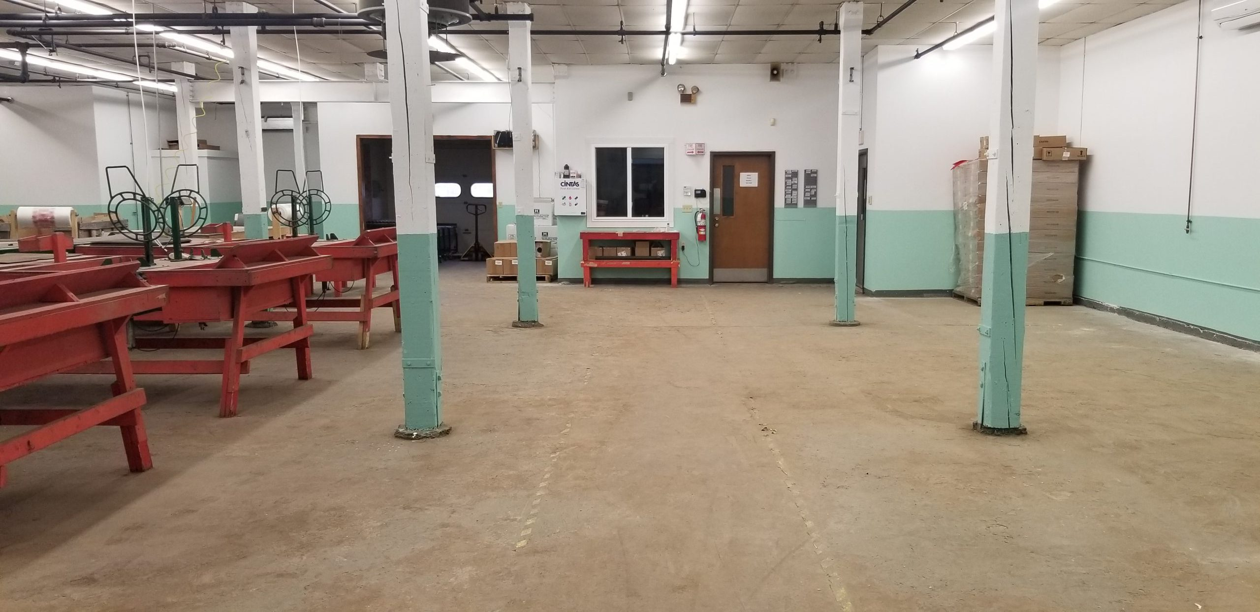 Bldg. 609 Production Area