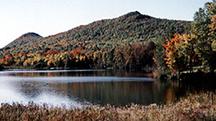 Quoggy Jo Mountain and Echo Lake
